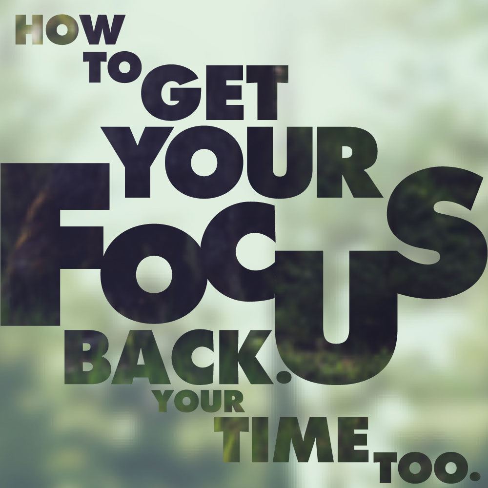 get your focus back. nuSchool